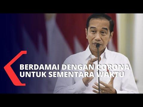 Jokowi: Protokol Corona Harus Tetap Dijalankan
