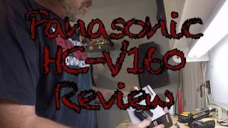 Panasonic HC V160 Review