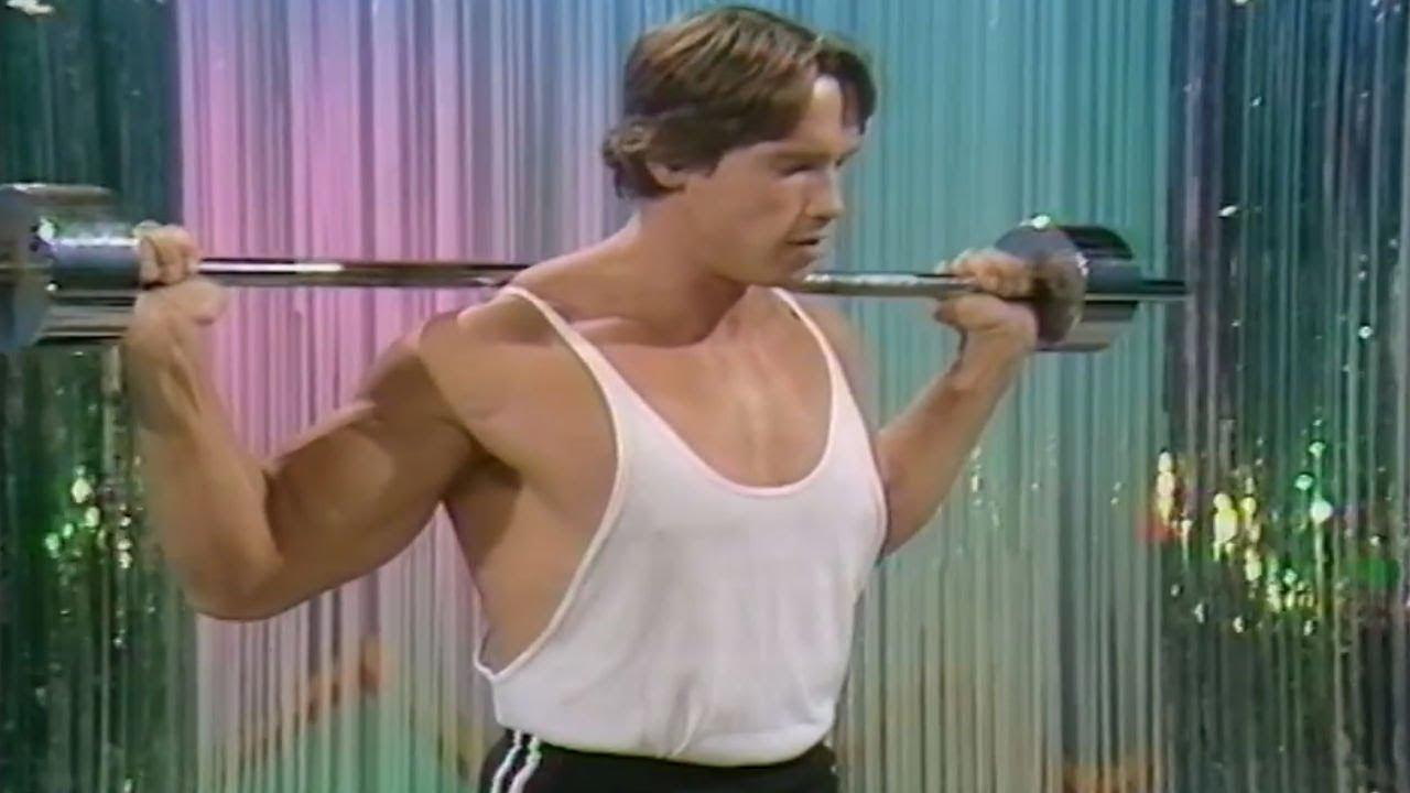 Arnold Schwarzenegger Teaching Beginner Bodybuilding ...