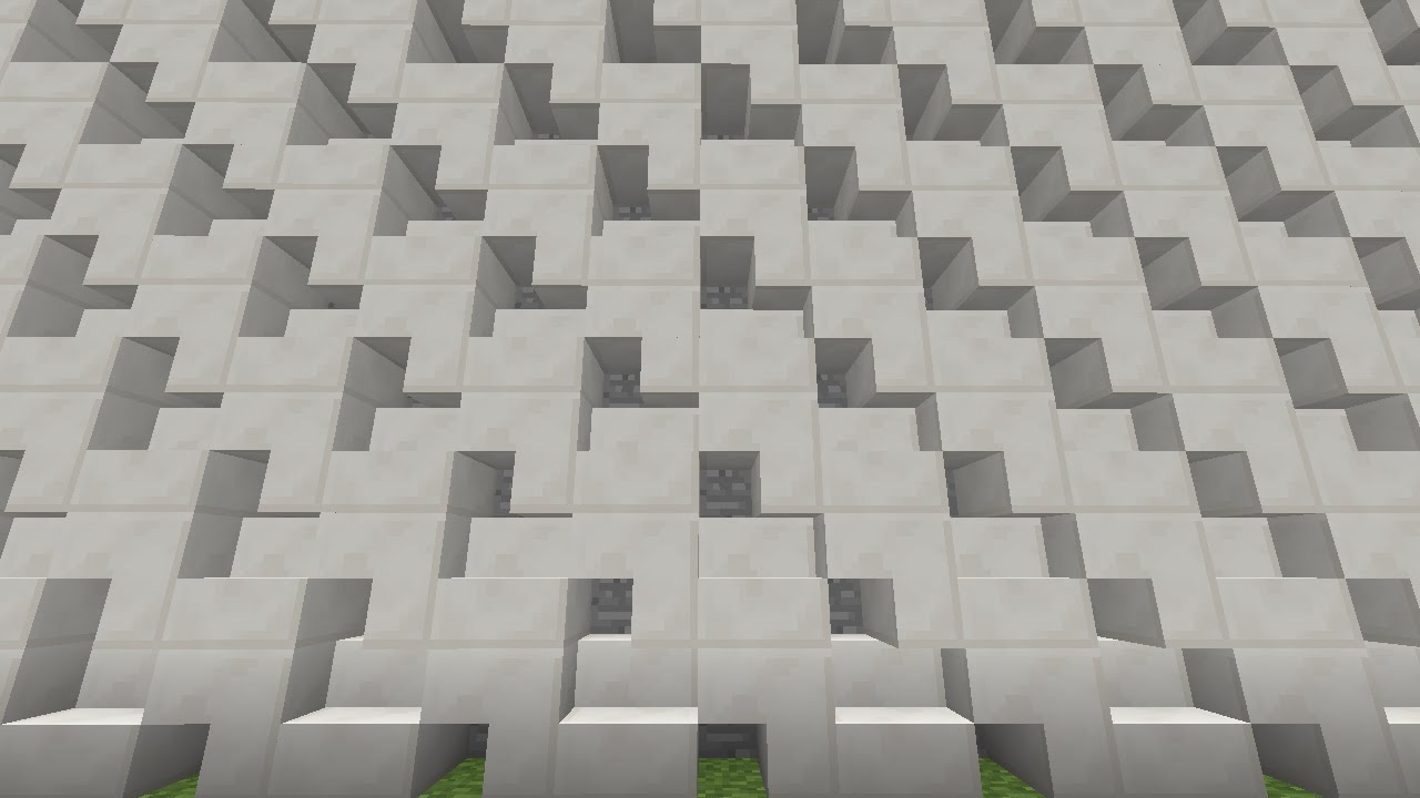 Minecraft Tutorial Wall Designs And Wall Carving Ask Peri Ep1
