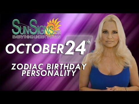 October 24th Zodiac Horoscope Birthday Personality - Scorpio - Part 2