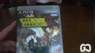 [HD] Unboxing - PS3 - Max Anarchy JAP