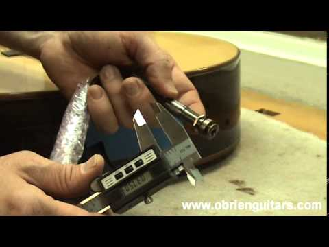 Luthier Tips du Jour Mailbag 34 - Drilling an end pin hole
