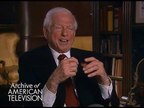 Sidney Sheldon on writing novels - TelevisionAcademy.com/Interviews