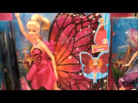 Barbie Mariposa and the Fairy Princess Dolls Toys