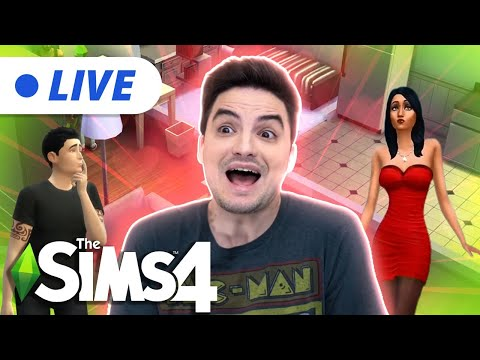 LIVE - PRA ONDE VAI ESSE CASAMENTO? The Sims [+12]