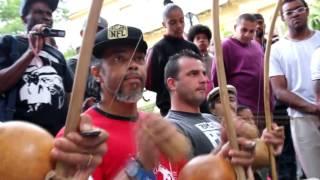 Capoeira na Praça da República SP - 23 de Abril de 2017 - Dia de Santo Forte