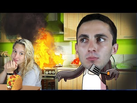 Cook a Taco for your Girlfriend Challenge! (Real Life Challenges)