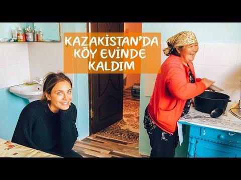 ORTA ASYA'DA KÖY EVİNE KONUK OLDUK! | KAZAKİSTAN | VLOG 34