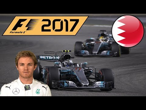 F1 2017 Nico Rosberg Career Mode Part 3: Bahrain