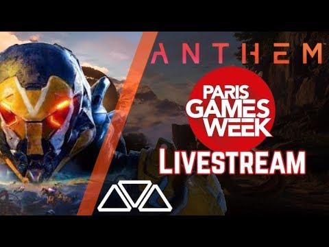 Anthem - BRAND NEW GAMEPLAY! Paris Games Week Livestream (Full)