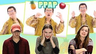 Americans React to PPAP Pen Pineapple Apple Pen