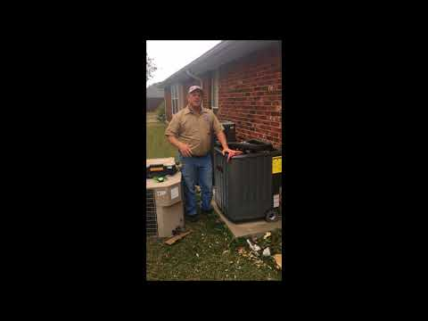 Heating And Cooling System Replacement In McKinney, Allen, Fairview, Prosper, Melissa, Collin County - Видео онлайн