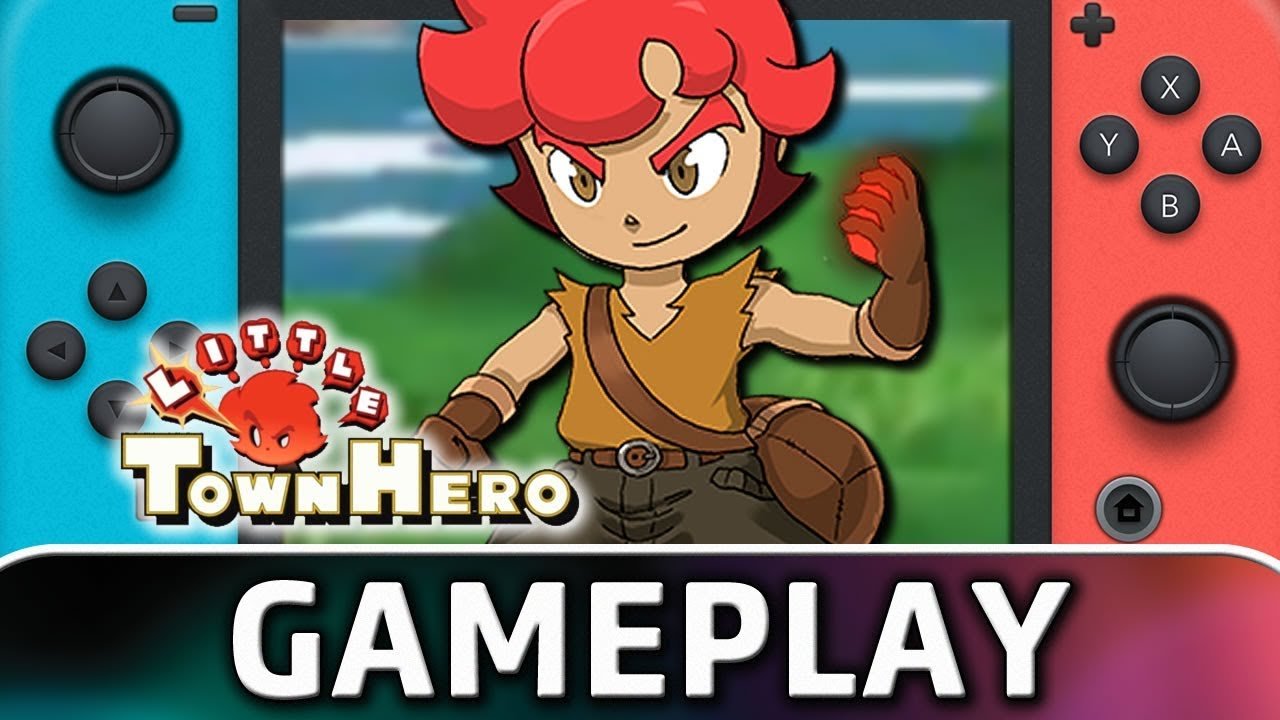 Little Town Hero | First 20 Minutes on Nintendo Switch