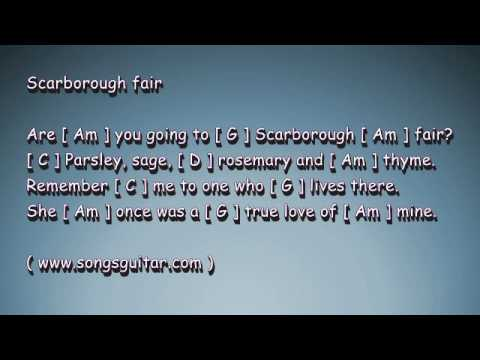 Scarborough Fair | Folk Song Chords & Lyrics - YouTube