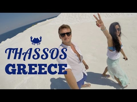 Thassos in Summer! Thassos Greece | White Beaches, Greek Taverns, Blue Sea | Vlog - keyifliyim