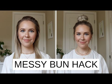 easy-messy-bun-hack-for-short/fine-hair