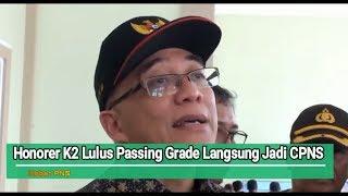 Download Video Honorer K2 Lulus Passing Grade Langsung Diangkat Jadi CPNS 2018 MP3 3GP MP4
