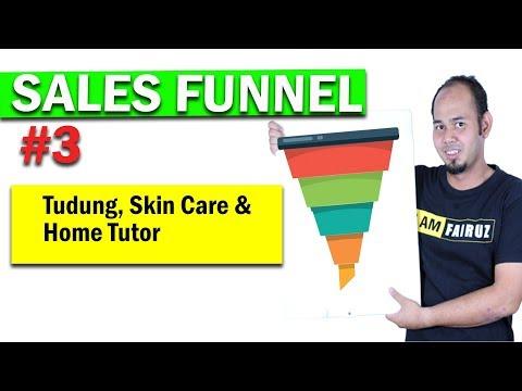 Sales Funnel Tudung, Skincare & Home Tutor