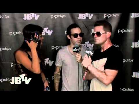 Lollapalooza 2011 - Patrick Stump & Black Cards Interview