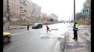 Как пешеходы соблюдают ПДД в Витебске