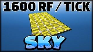 1600 RF/TICK   MINECRAFT SKY 31   MINECRAFT MODPACK