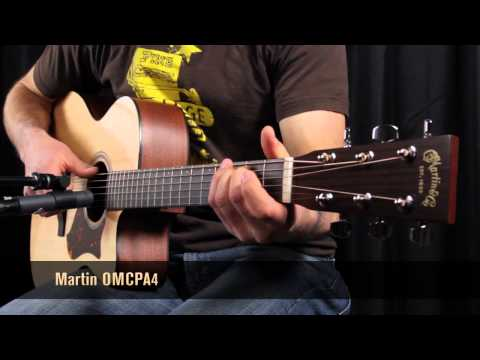 Martin OMCPA4 vs GPCPA4 vs DCPA4 - What's the best acoustic guitar
