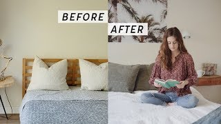 Bedroom Makeover with The Futon Shop | Alli Cherry