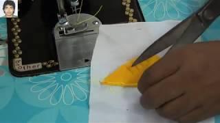 create डिज़ाइन | New and simple fashion designing multiple temple shape techniques | prasanta kar