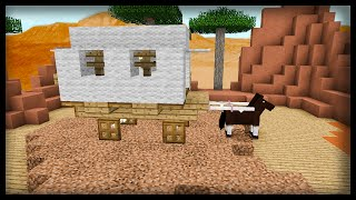 Minecraft: How to make a horse carriage