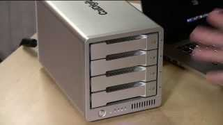 CalDigit T4 Thunderbolt 2 RAID Array Review (Mac only) - 4 bay thunderbolt external hard disk array