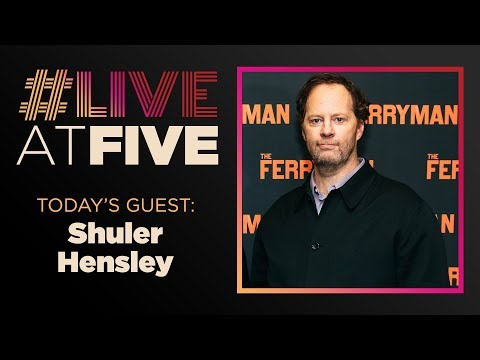 Broadway.com #LiveatFive With Shuler Hensley Of THE FERRYMAN