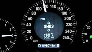 Mercedes E350 7G-Tronic V6 0-130