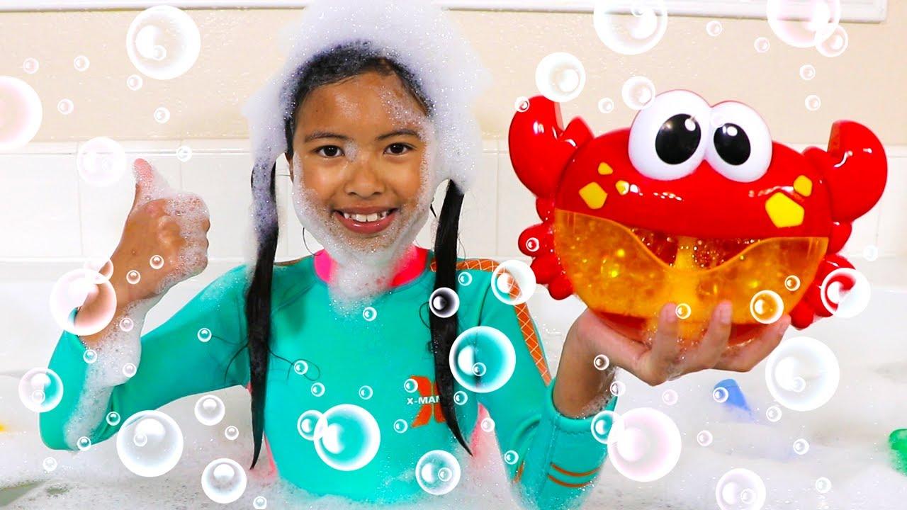 La Canción del Baño | Wendy Bath Song | Canciones Infantiles Para Niños