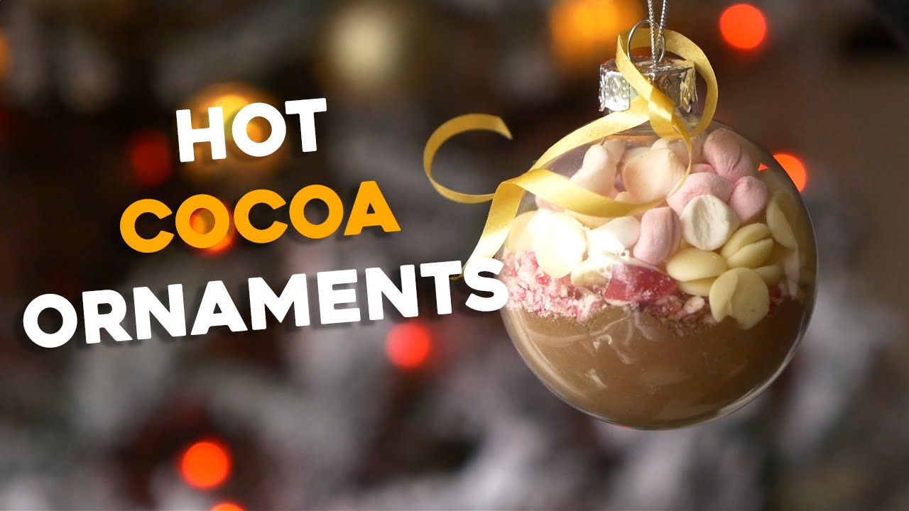 Hot Cocoa Ornaments | Awesome Last Minute DIY Christmas Gift! - YouTube