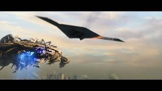Корабль пришельцев атакуют ядерной боеголовкою Скайлайн 2
