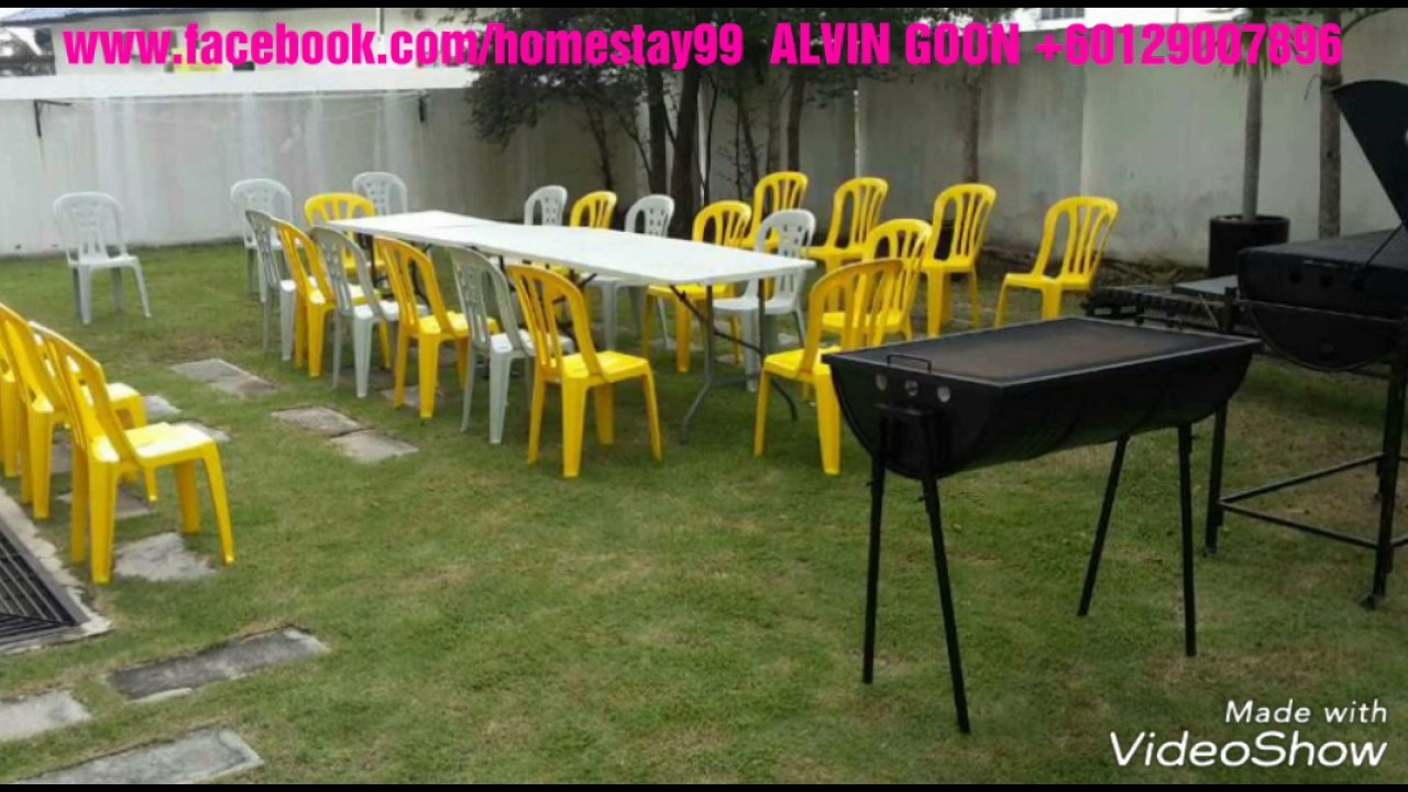 新娘出嫁屋 – 角头空地 – 烧烤 / Chinese Wedding House – Corner Unit – BBQ