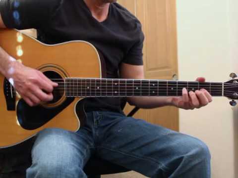 Letter To Me - Brad Paisley - Guitar Lesson