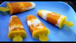 How To Make Mango Popsicle (Yogurt + Mango)