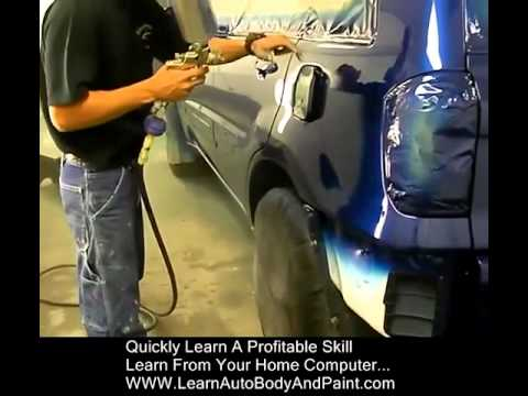 How To Spray Paint Cars Yourself! LearnAutoBodyAndPaint.com VIP Training Course & Community