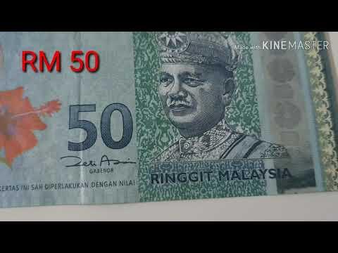 Uang Kertas 50 Ringgit Malaysia / RM 50
