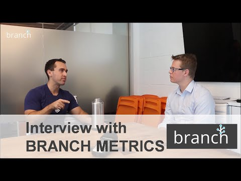 Branch Metrics | Interview with its CEO & Co-Founder - Alex Austin