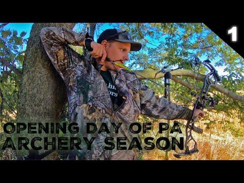 Opening Day Of PA Archery Season 2020 (Ep. 1)