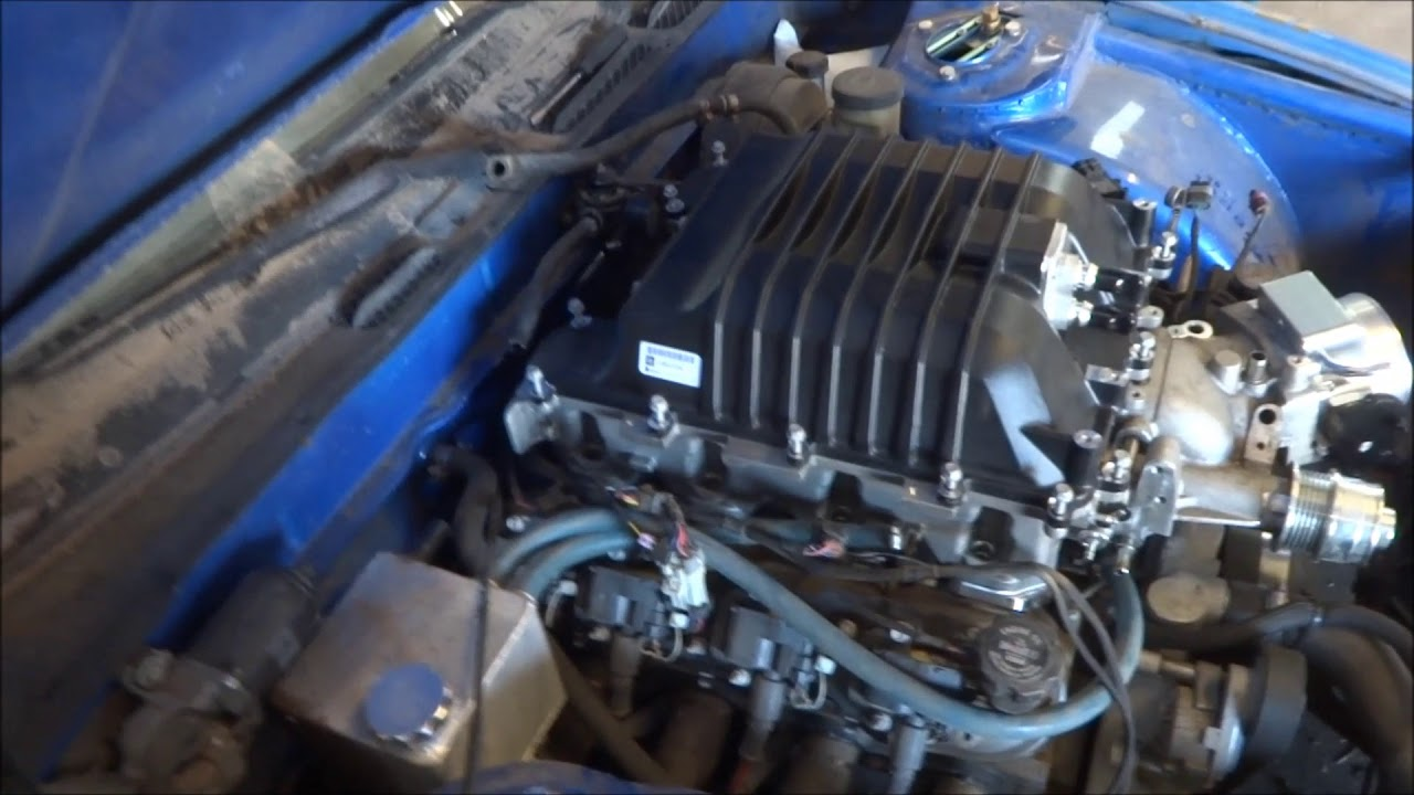 LSA SUPERCHARGER INSTALL LS1 LS6 CATHEDRAL PORT