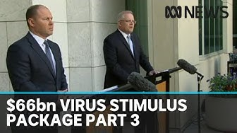 PM and Treasurer answer questions on $66 billion coronavirus stimulus package, part 3 | ABC News