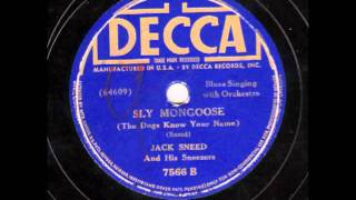 Sly Mongoose (The Dogs Know Your Name) - Jack Sneed & his Sneezers [10 inch]