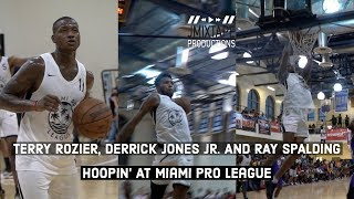 Derrick Jones Jr. GOES CRAZY for 32pts in the first half At Miami Pro League🔥 Video