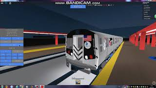 Roblox MTA Here:R160A A Train Driving