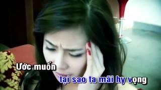 [Video Karaoke]Tôn thờ một tình yêu - Khánh Phương ft Bằng Cường