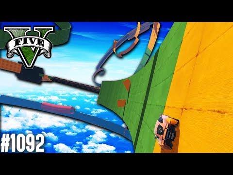 DIESER WALLRIDE IST NUR FÜR PROFIS (+Download)| GTA 5 - Custom Map Rennen